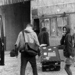 ... aka Niko Mounoud, Sean Baxter, Kazehito, Hiro arriving in Besançon at th Atelier de l'étoile